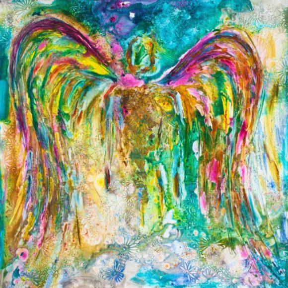 angel wall art