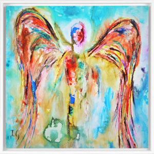 oil painting angel
