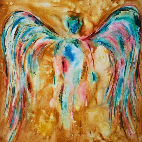 angel painting famous