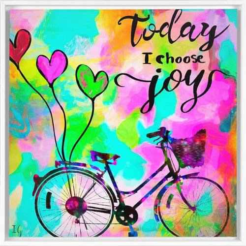 interactive art today i choose joy